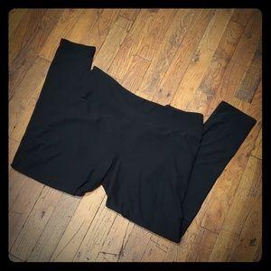 LuLaRoe Solid Black Leggings - Tall & Curvy